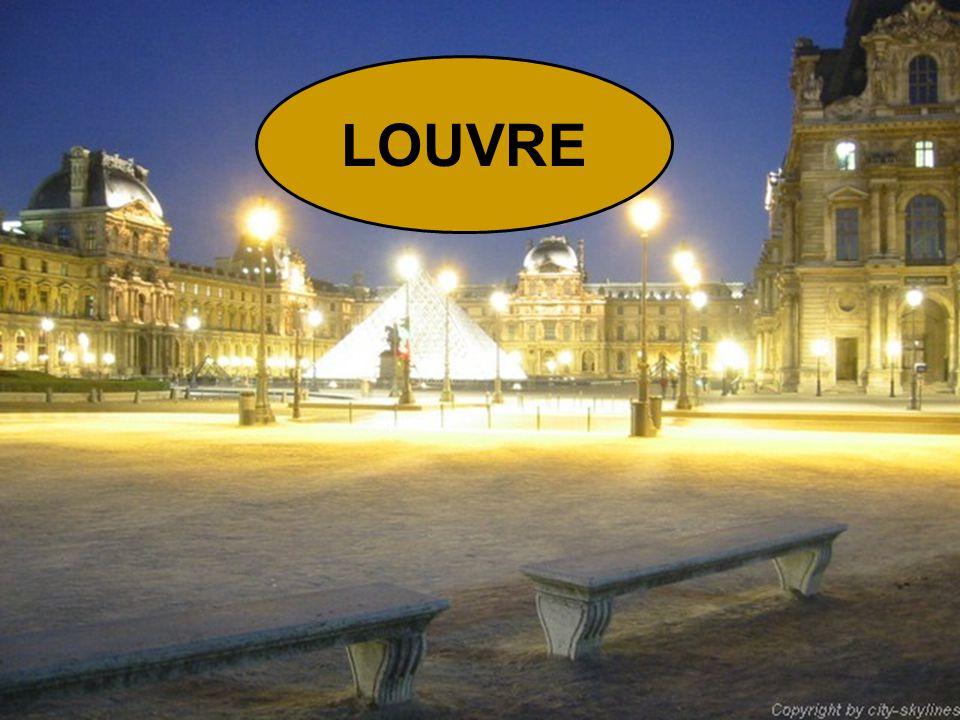 Le musée du Louvre est le plus grand musée parisien par sa surface (160 106 m² dont 58 470 consacrés aux expositions).