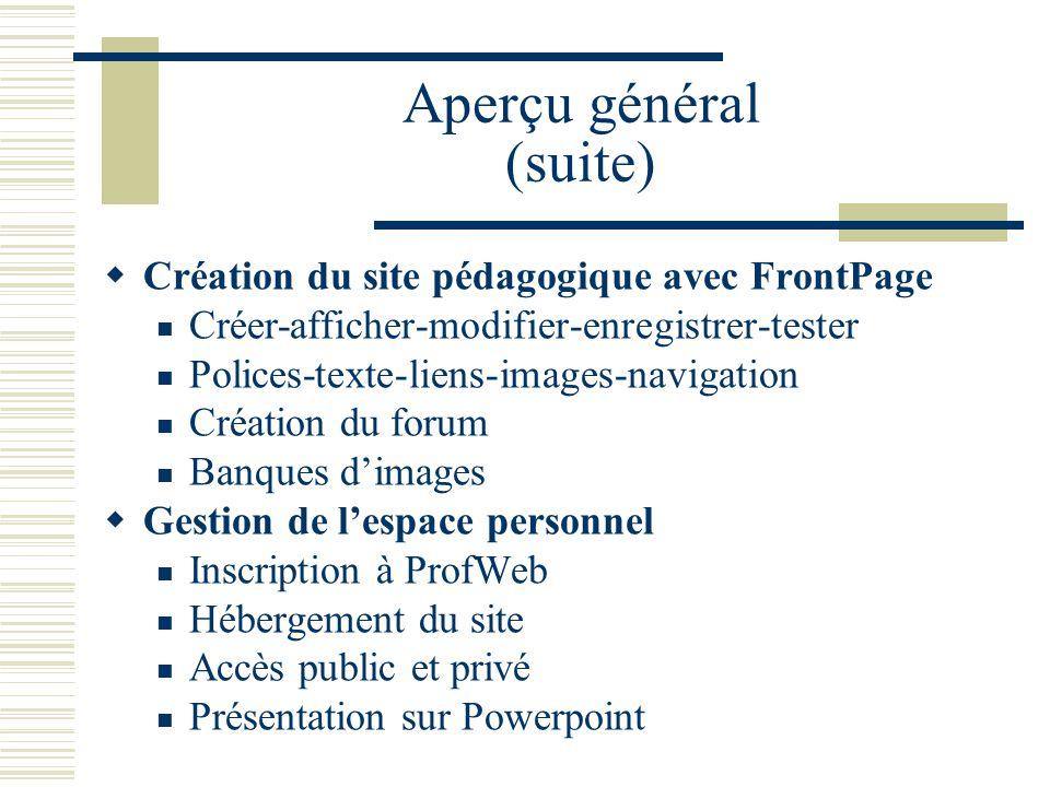 Documents distribués ProfWeb: le carrefour des ressources pédagogiques collégiales Foire aux questions