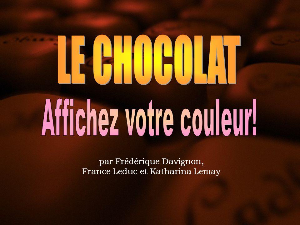 APHRODISIAQUE Les croyances sur les vertus aphrodisiaques du chocolat voyagèrent à travers lhistoire.