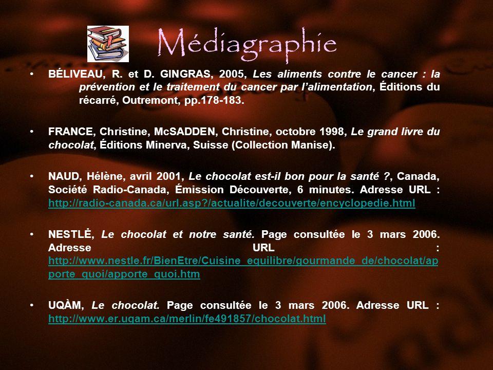 Médiagraphie BÉLIVEAU, R.et D.