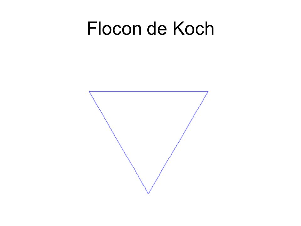 Flocon de Koch