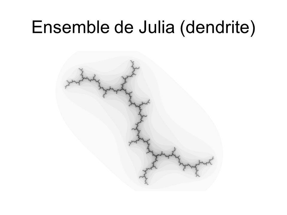 Ensemble de Julia (dendrite)