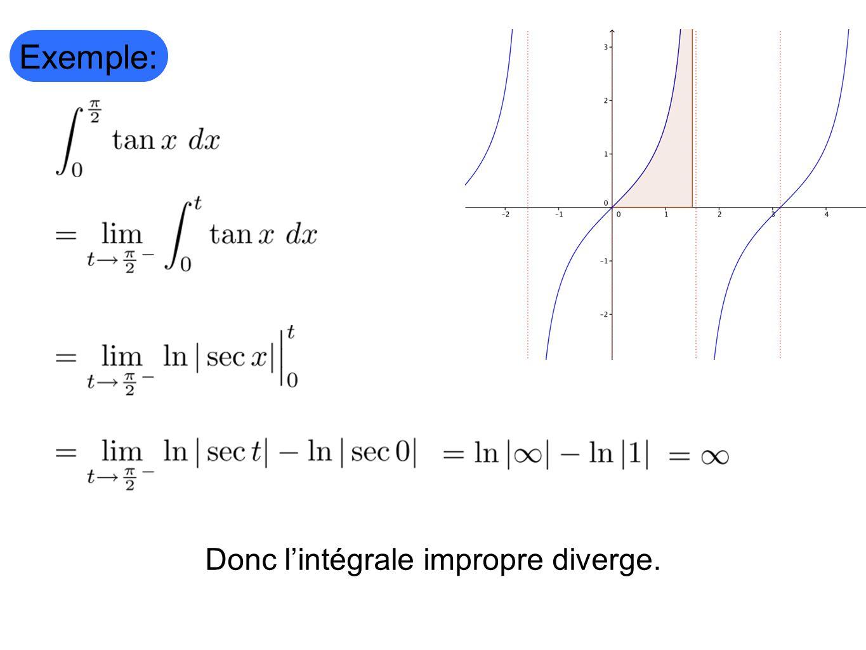Comment gérer un intégrale de la forme Converge si les DEUX convergent