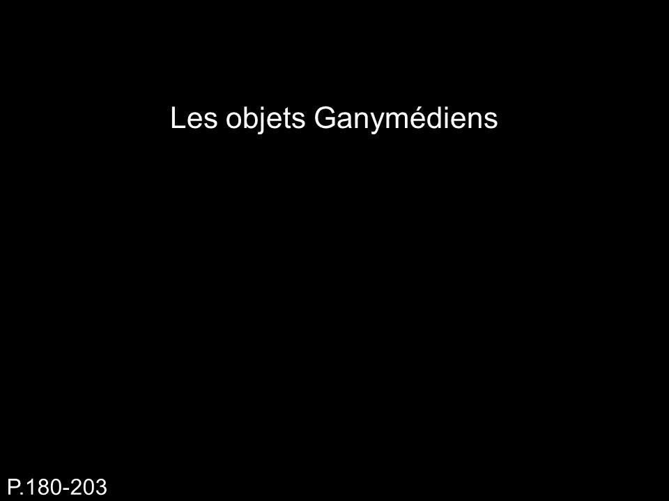 Les objets Ganymédiens P.180-203