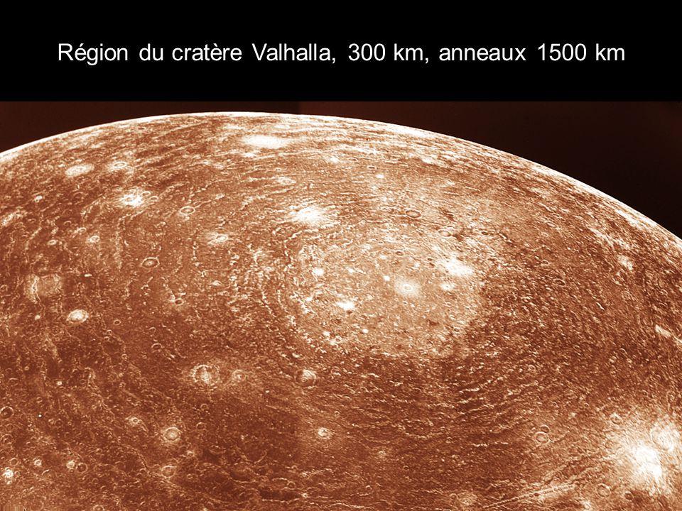 Région du cratère Valhalla, 300 km, anneaux 1500 km