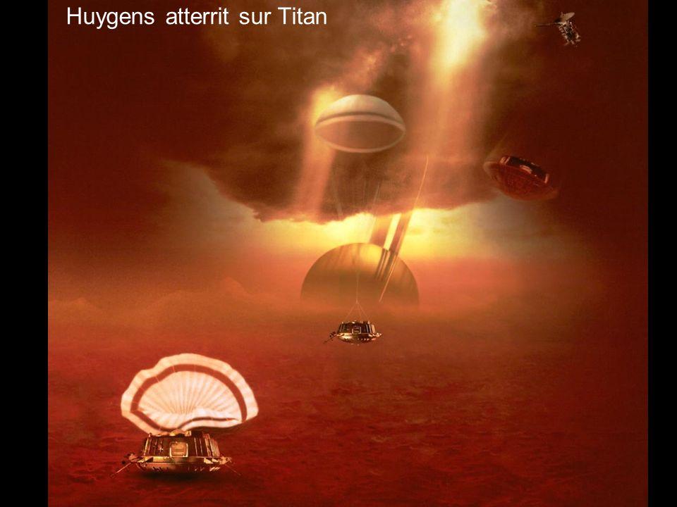 Huygens atterrit sur Titan