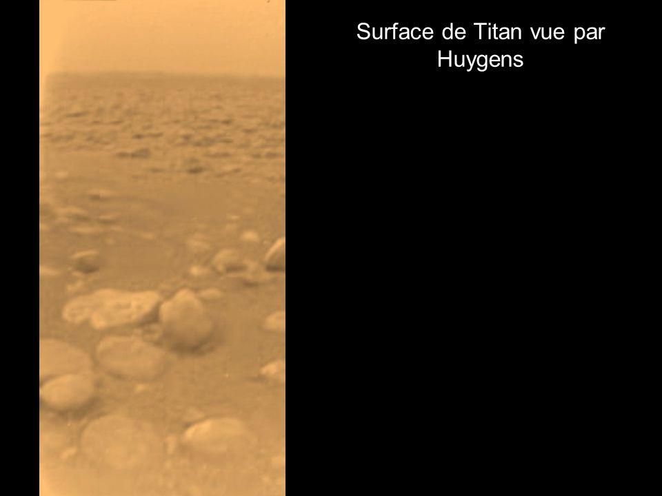 Surface de Titan vue par Huygens