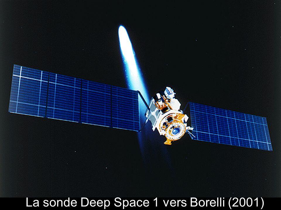 La sonde Deep Space 1 vers Borelli (2001)
