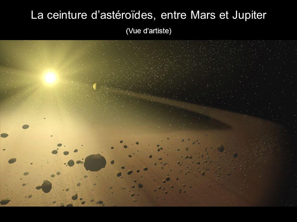La ceinture dastéroïdes, entre Mars et Jupiter (Vue dartiste)