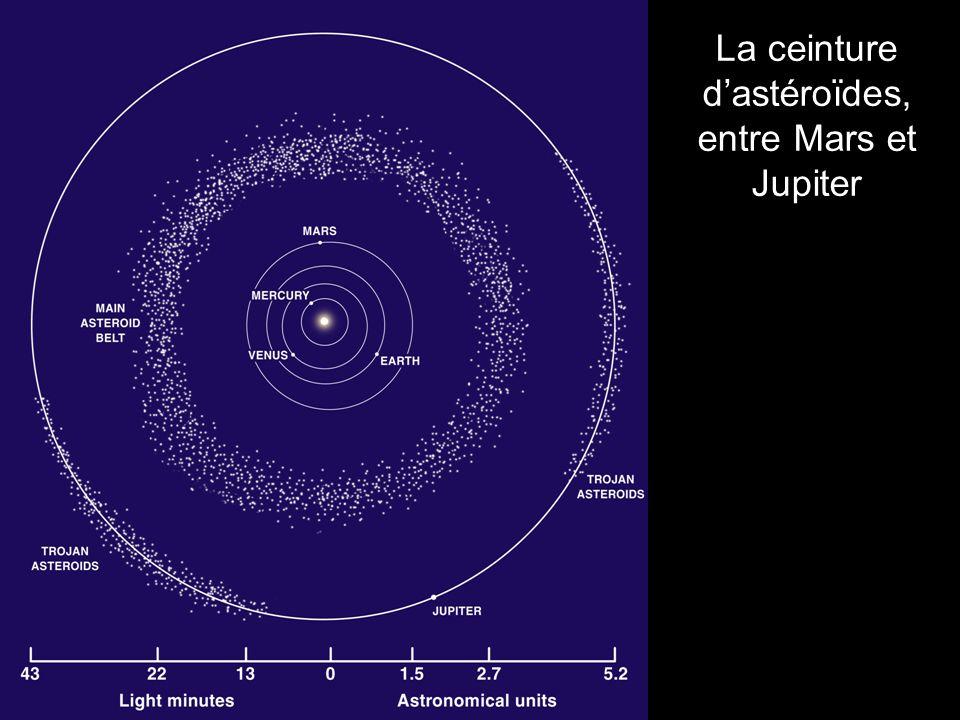 La ceinture dastéroïdes, entre Mars et Jupiter