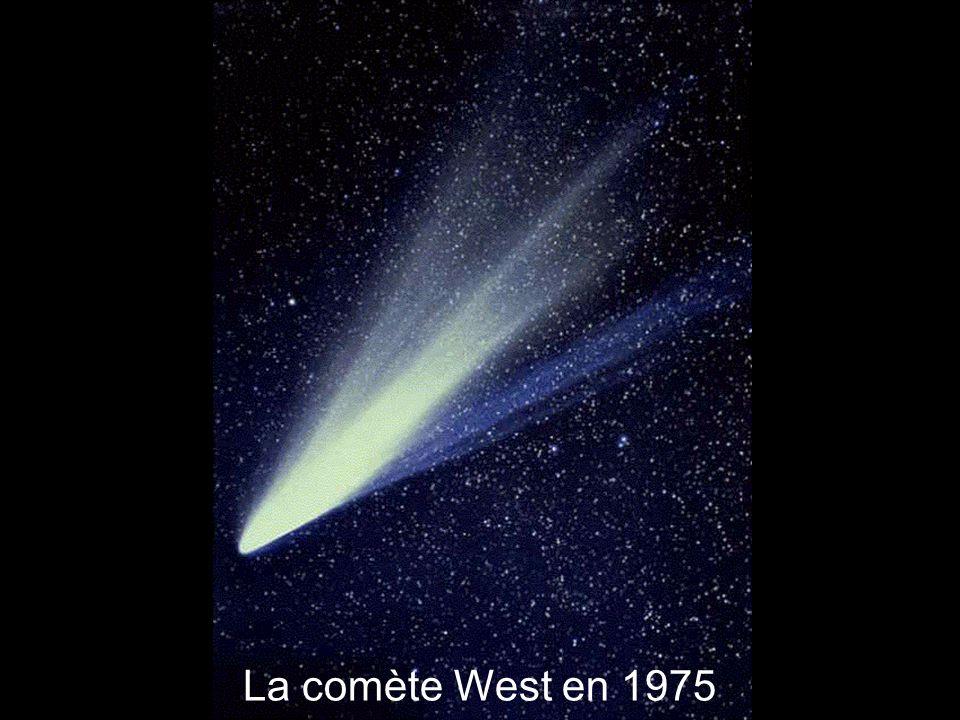 La comète West en 1975