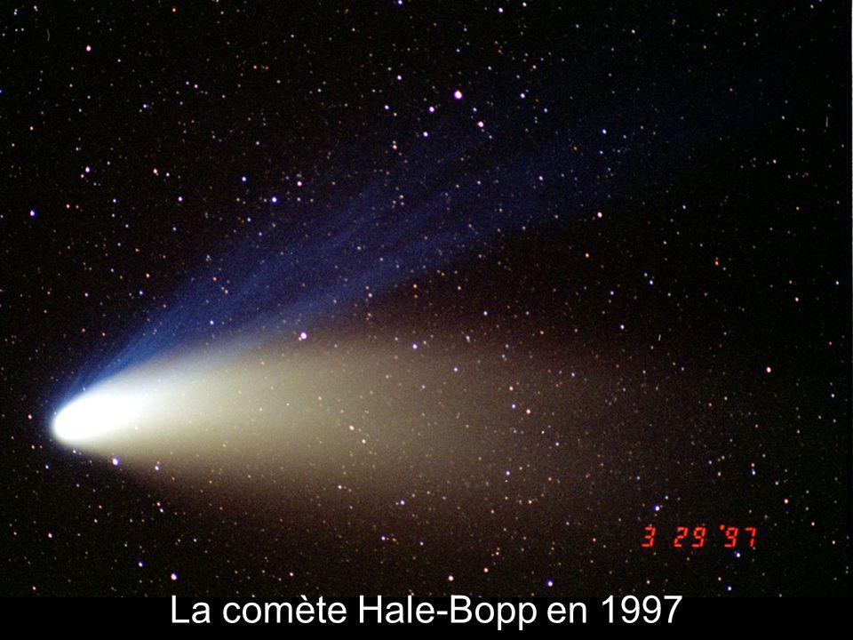 La comète Hale-Bopp en 1997
