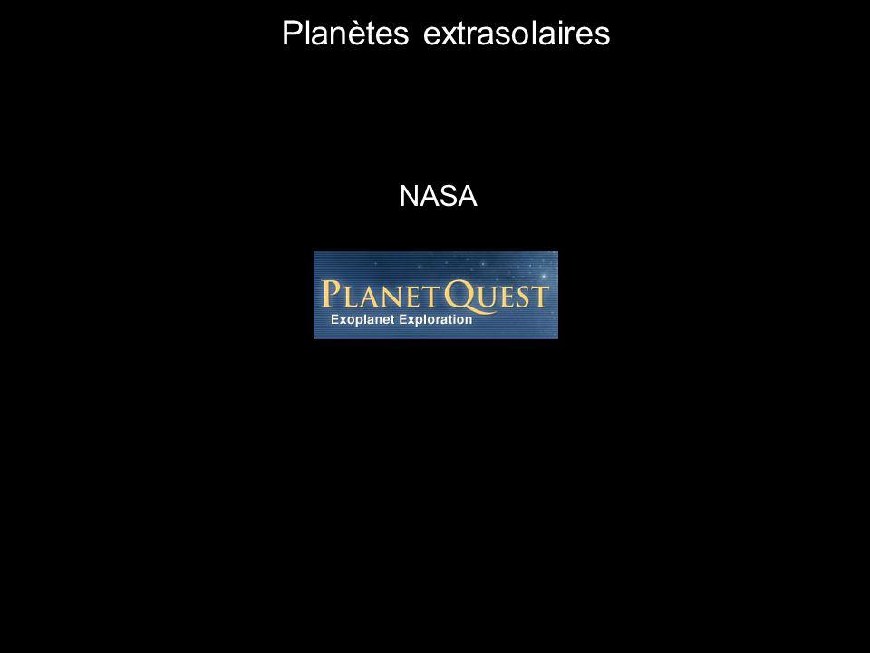NASA Planètes extrasolaires