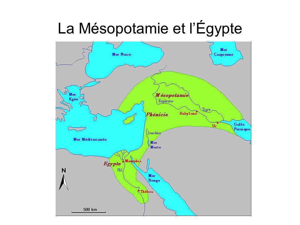 La Mésopotamie et lÉgypte