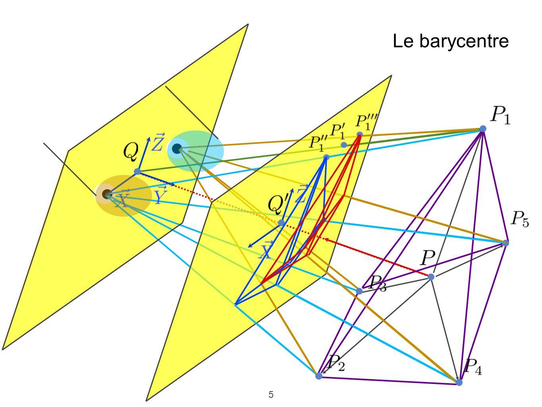 5 Le barycentre