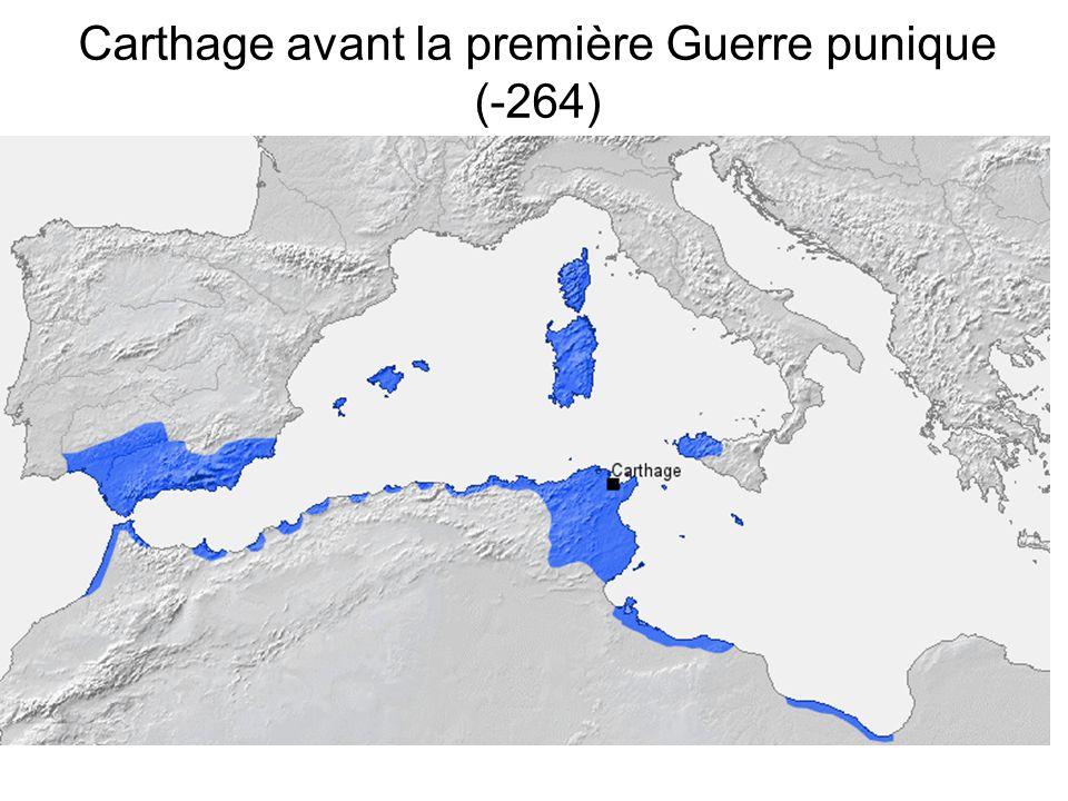 Carthage avant la première Guerre punique (-264)