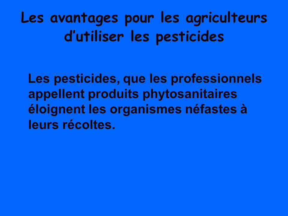 Que peut-on utiliser au lieu des pesticides.