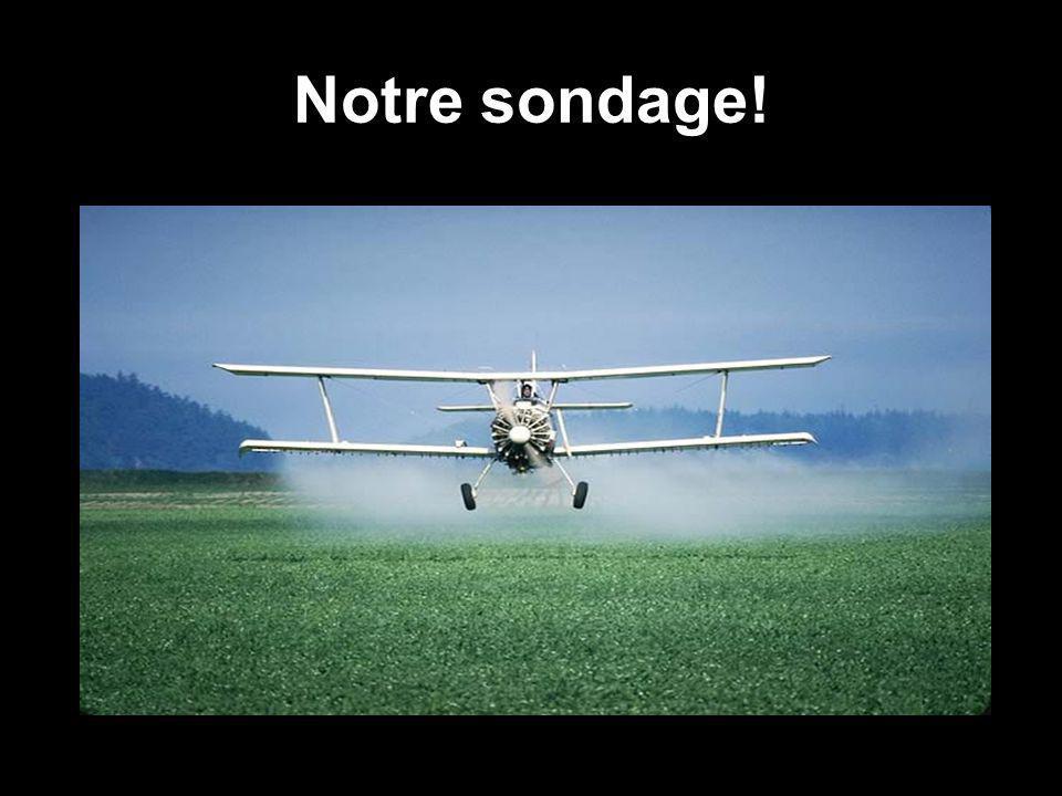 Qui utilisent les pesticides .
