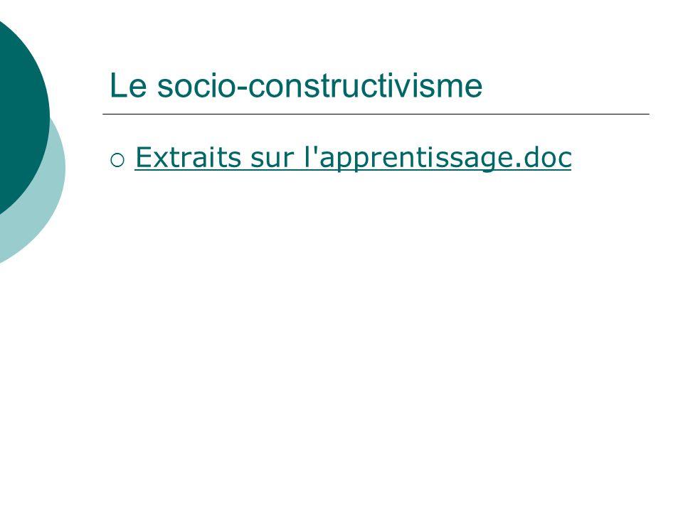 Le socio-constructivisme Extraits sur l'apprentissage.doc