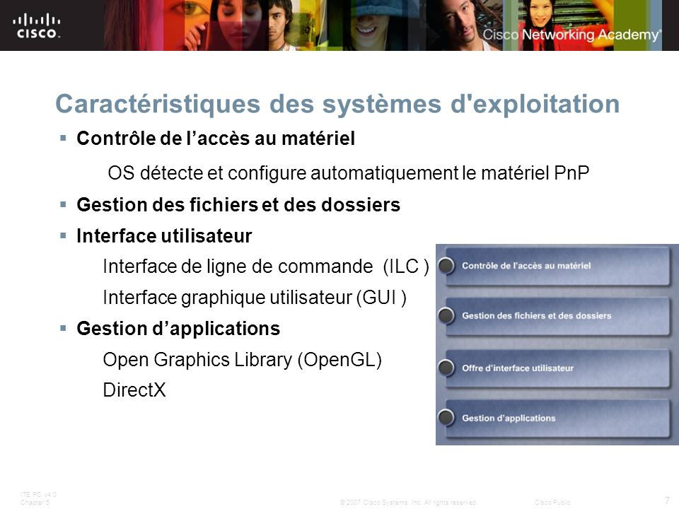 ITE PC v4.0 Chapter 5 7 © 2007 Cisco Systems, Inc.