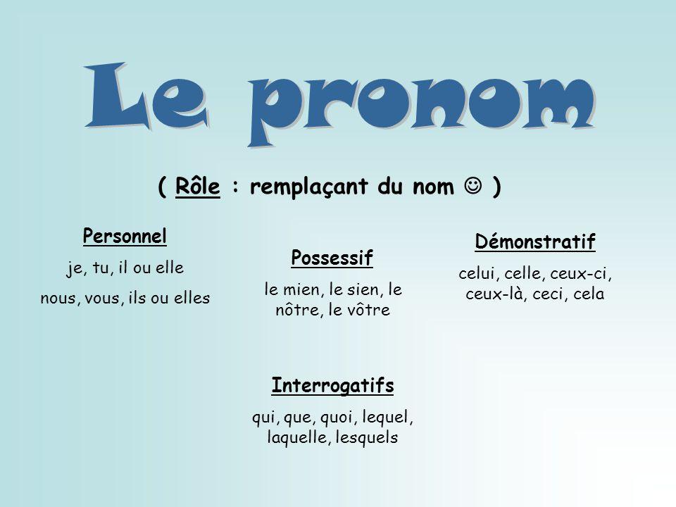 Ce mot est un partenaire du nom. Il aide à décrire le nom commun en lui donnant une qualité.