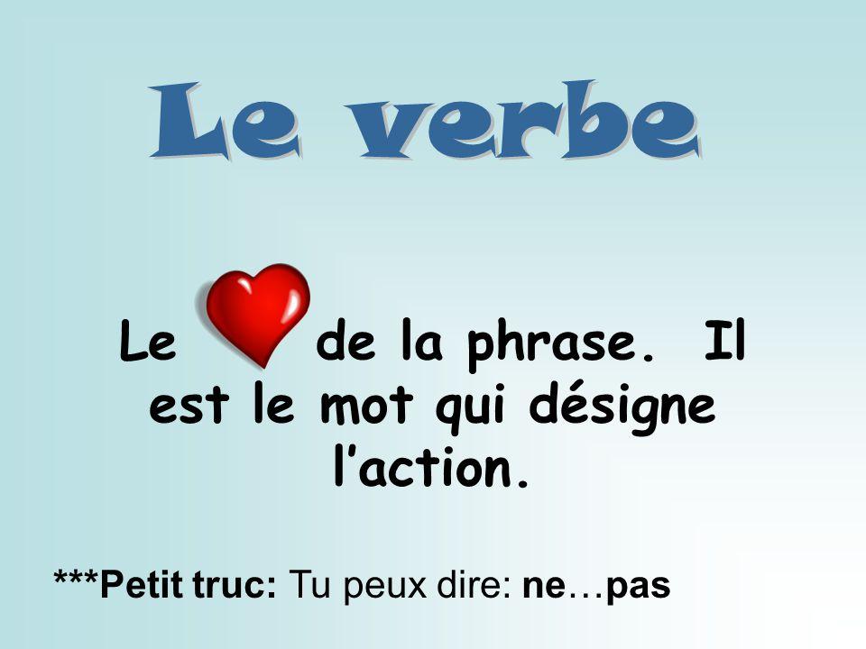 Ce mot est principalement un partenaire du verbe.