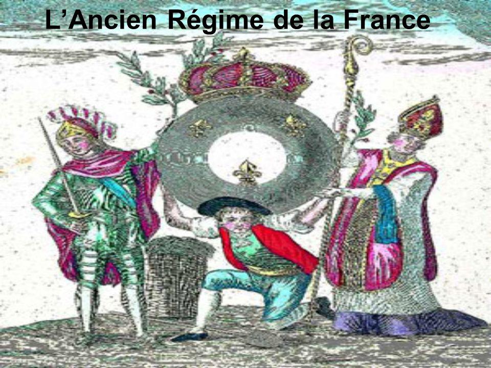 Ancien Régime On nomme ancien régime lorganisation politique et sociale des États de lEurope occidentale et centrale aux XVIIe et XVIIIe siècles.