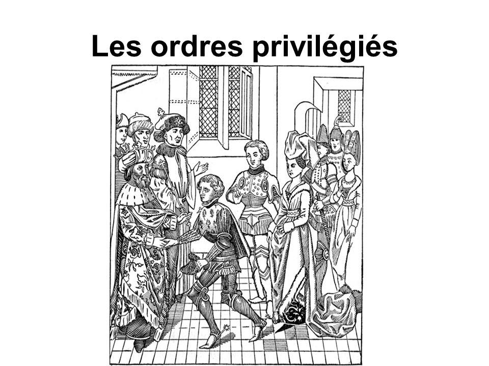 Les ordres privilégiés