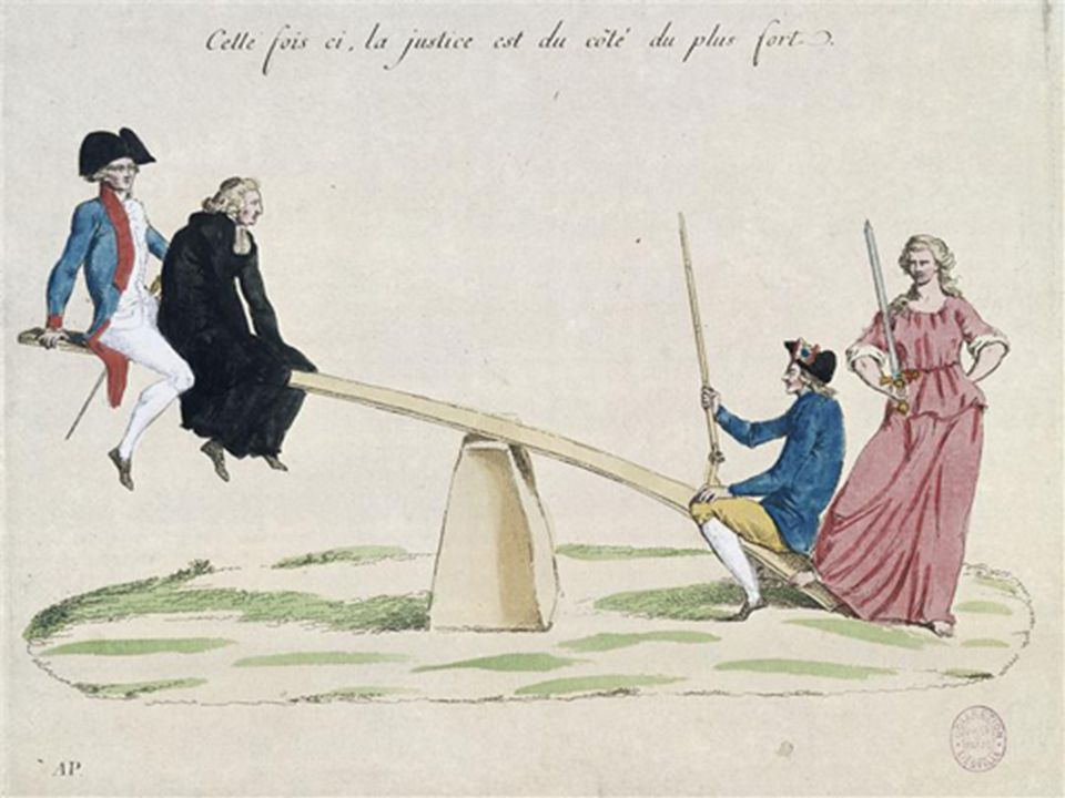 La longue période révolutionnaire Dès 1789, la France sengage dans une longue période révolutionnaire.