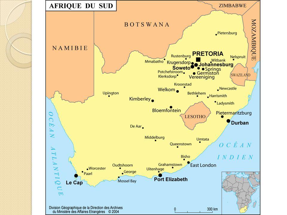 Apartheid Depuis 1948, en Afrique du sud, le gouvernement a imposé des lois de ségrégation.