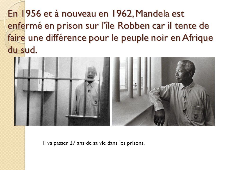 Manifestations et massacres Lémeute de Soweto en 1976Le massacre de Sharpeville 1960 79 manifestants morts Les autorités blanches vont arrêter par la force physique les manifestants noirs qui protestent contre lApartheid.