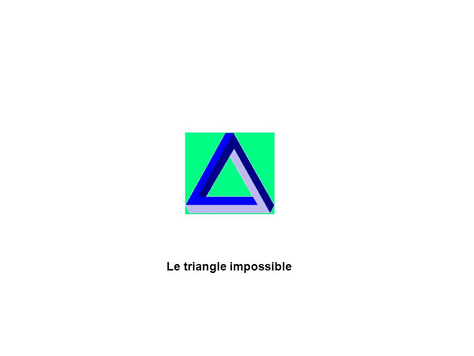 Le triangle impossible