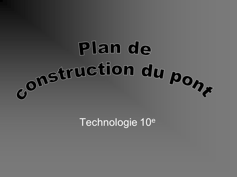 Technologie 10 e