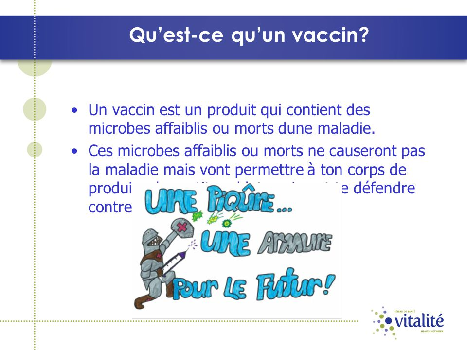 Quest-ce quun vaccin.