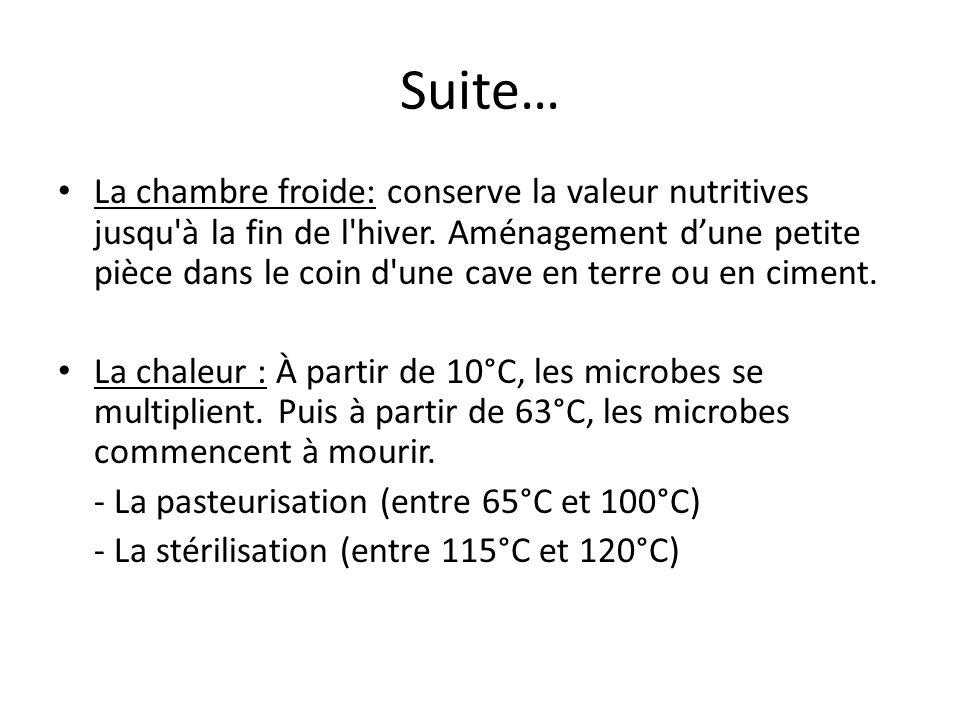 Suite… La chambre froide: conserve la valeur nutritives jusqu'à la fin de l'hiver. Aménagement dune petite pièce dans le coin d'une cave en terre ou e