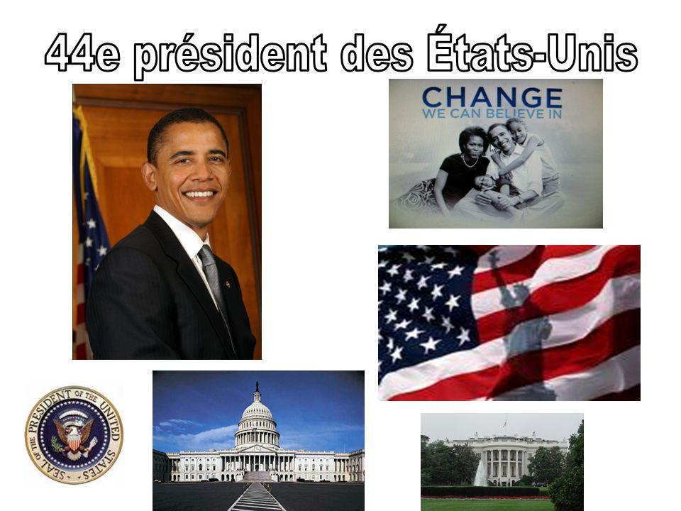 Le 20 janvier 2009, Barack Obama devient le premier président noir de lhistoire des États-Unis.