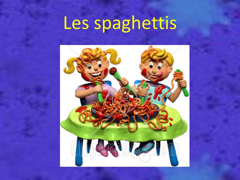 Où as-tu mis les spaghettis ???