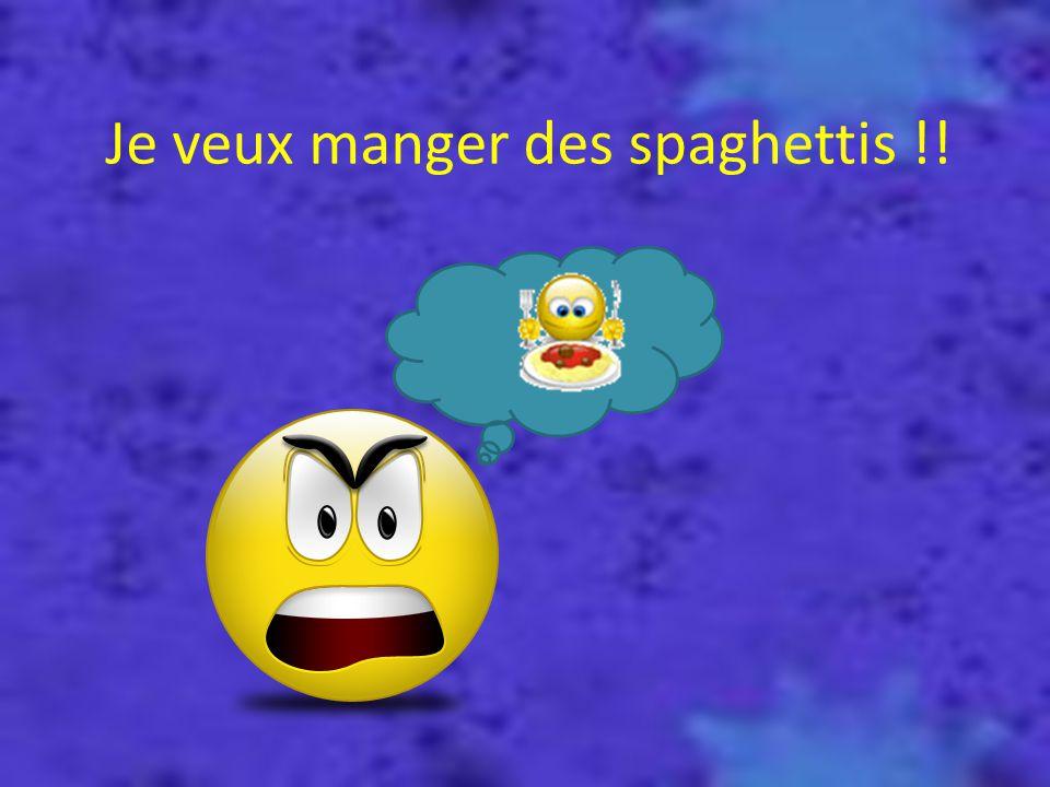 Je ne trouve pas les spaghettis !!