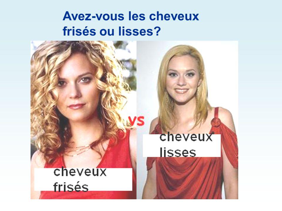 Avez-vous les lèvres épaisses ou minces?