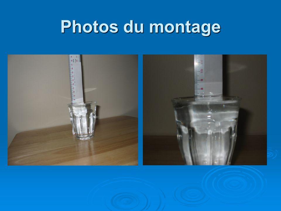 Photos du montage