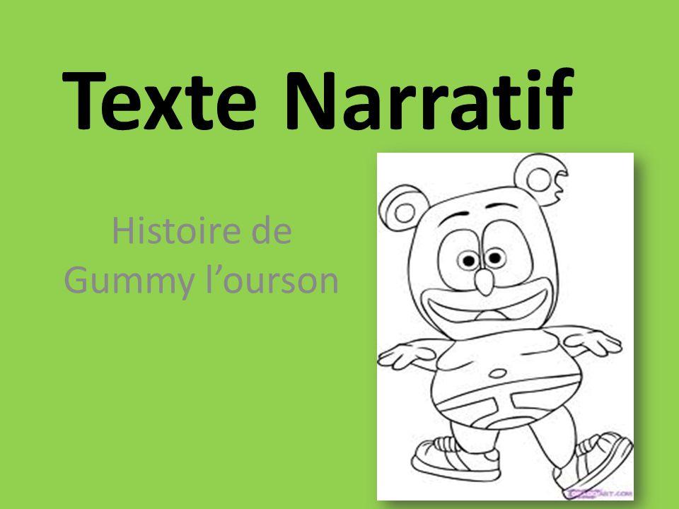 Texte Narratif Histoire de Gummy lourson