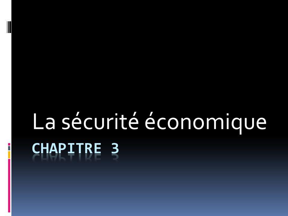 Pourquoi a-t-on besoin de sécurité économique?