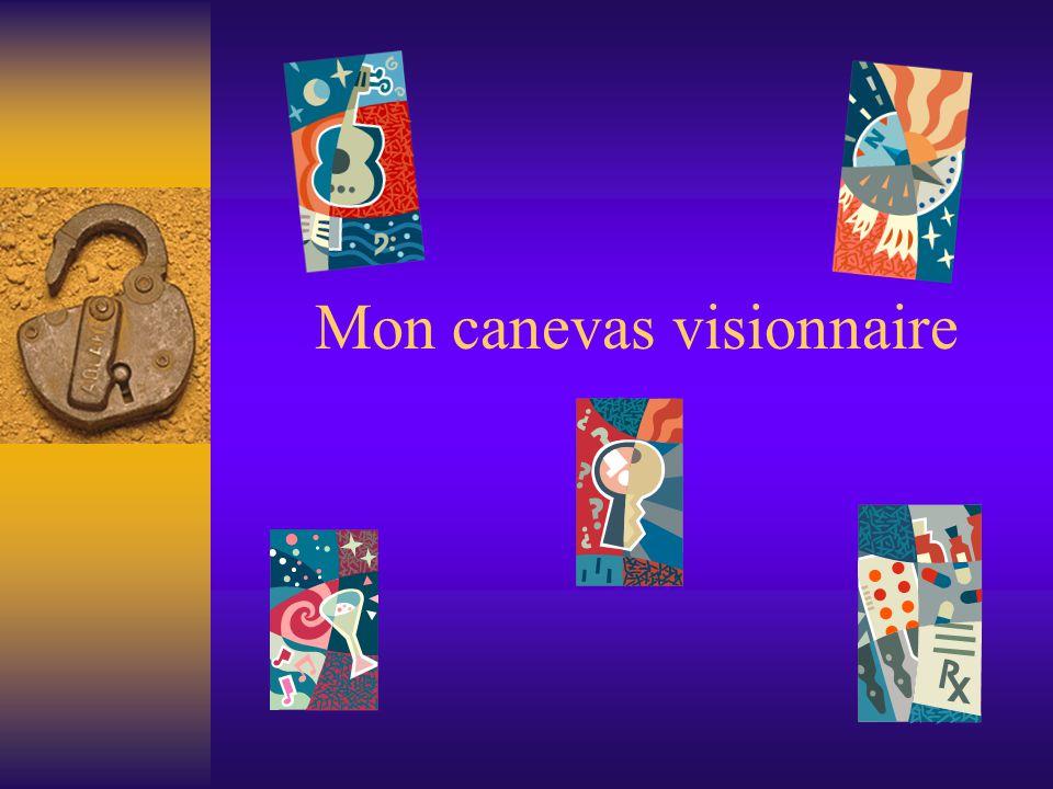 Mon canevas visionnaire