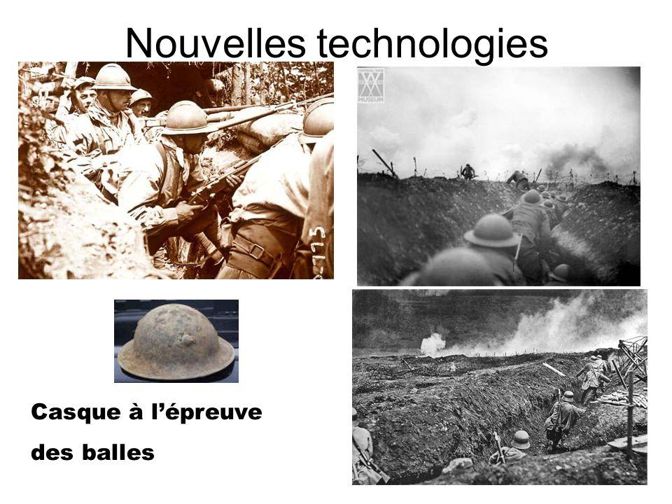 Nouvelles technologies Casque à lépreuve des balles