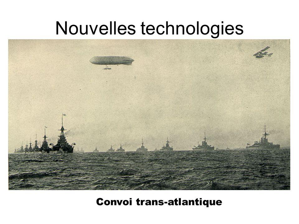 Nouvelles technologies Convoi trans-atlantique