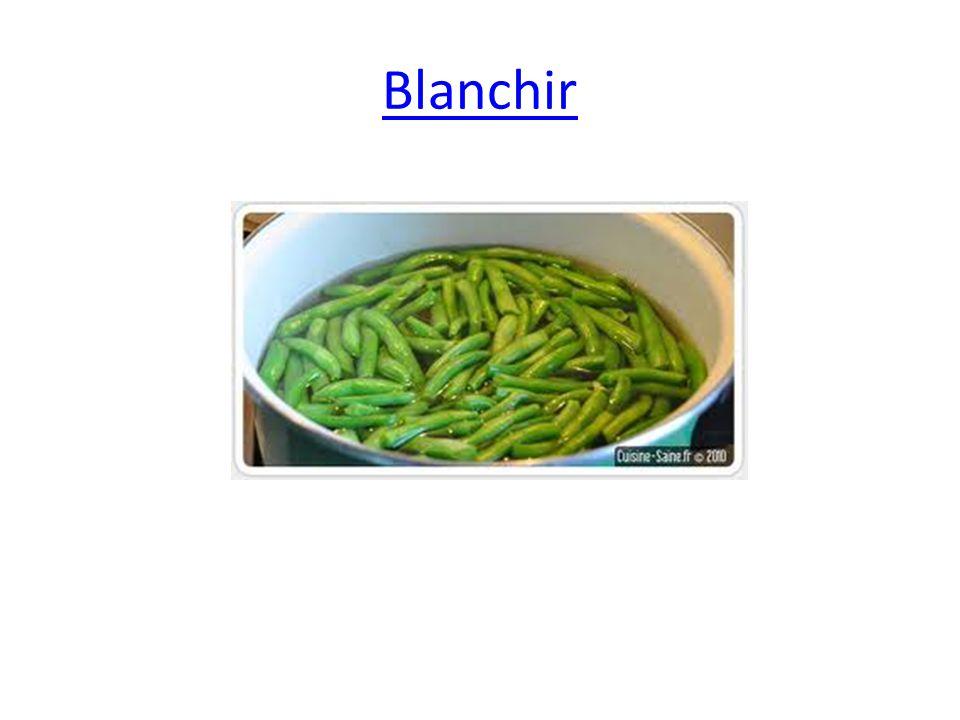 Blanchir