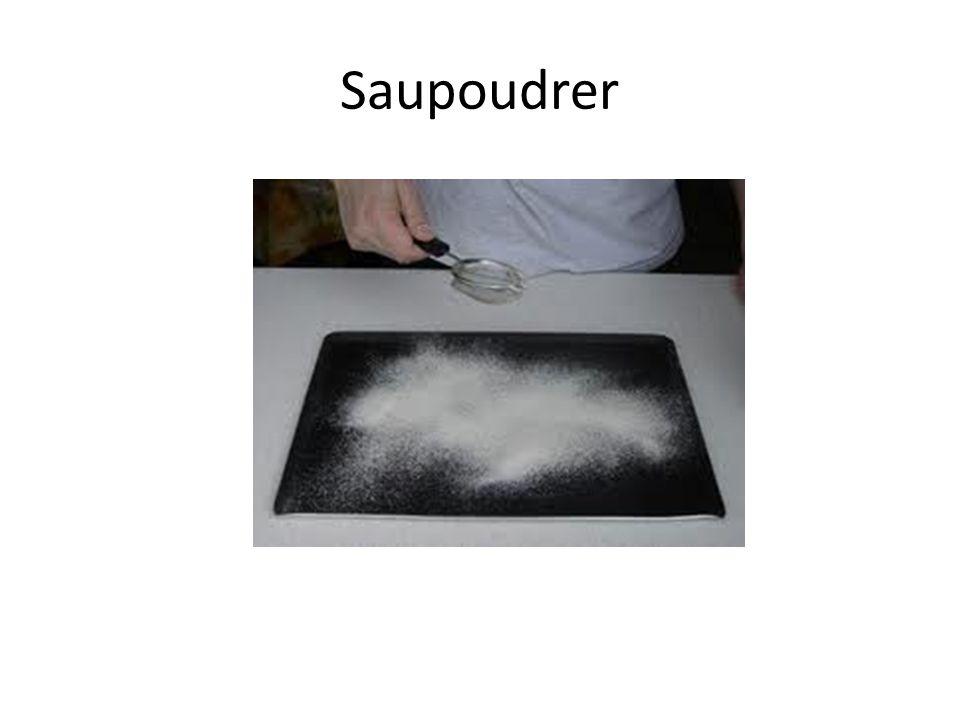 Saupoudrer