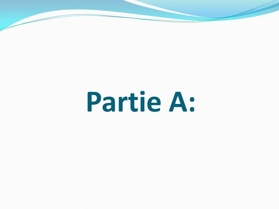 Partie A: