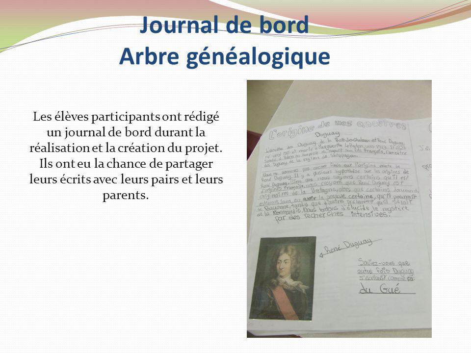 Pas de nos ancêtres francophones et acadiens Création de loeuvre