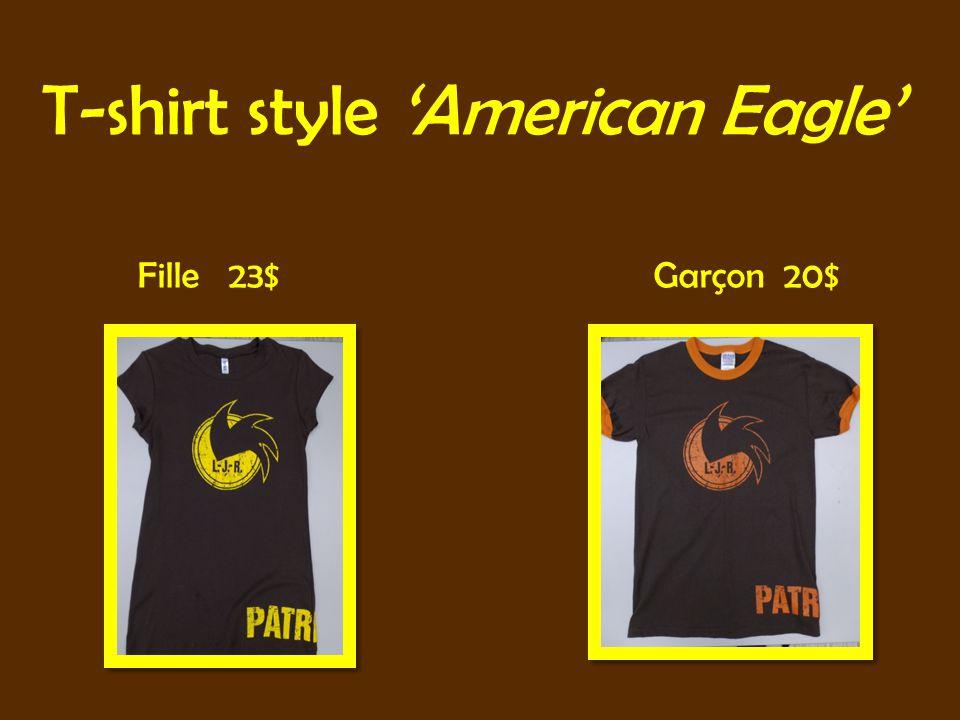 T-shirt style American Eagle Fille 23$ Garçon 20$
